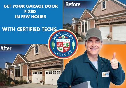 garage door repair Maricopa