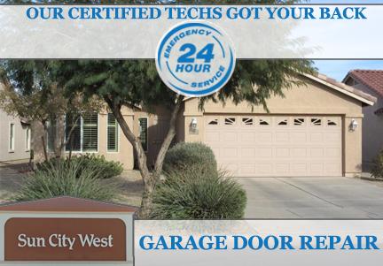 garage door repair Sun City West