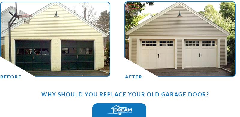 Replace Your Old Garage Door